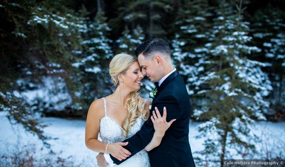 Emily and James's wedding in Calgary, Alberta