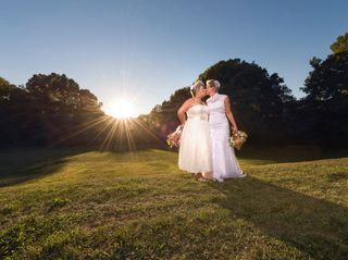 The wedding of Amanda and Tama Lynn