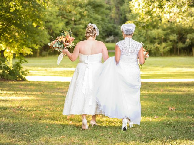 Tama Lynn and Amanda's wedding in Niagara Falls, Ontario 2