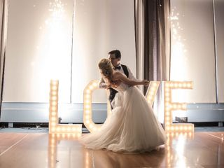 The wedding of Katerina and Kevin