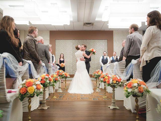 Mike and Amanda's wedding in Edmonton, Alberta 1