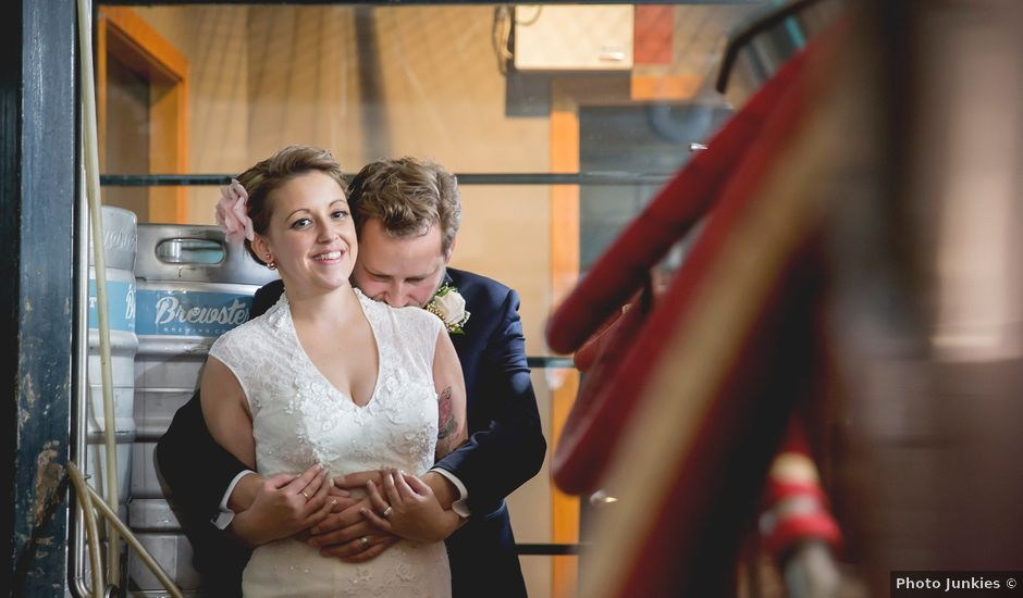Mike and Amanda's wedding in Edmonton, Alberta