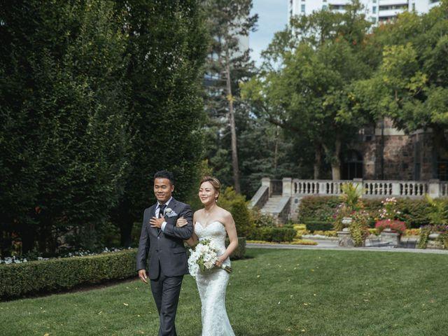 Yao and Tia's wedding in North York, Ontario 17
