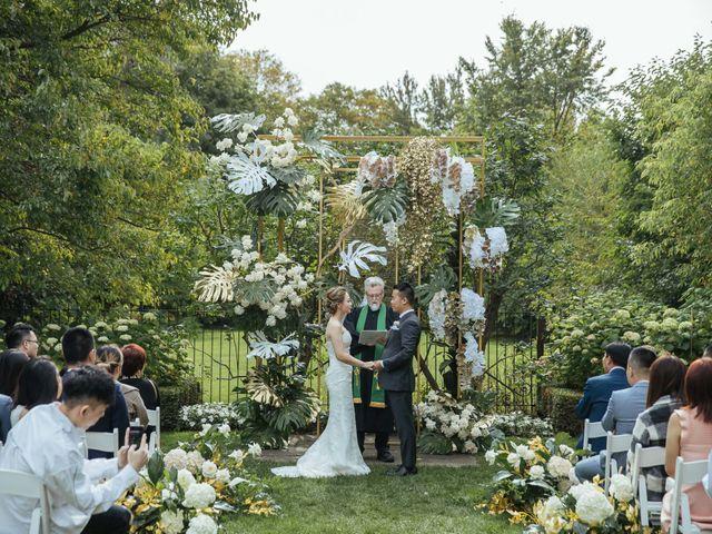 Yao and Tia's wedding in North York, Ontario 20