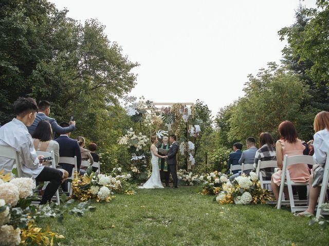 Yao and Tia's wedding in North York, Ontario 22