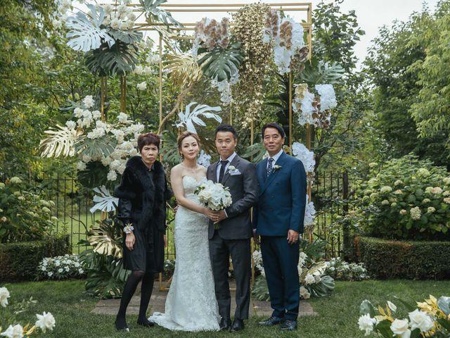 Yao and Tia's wedding in North York, Ontario 27