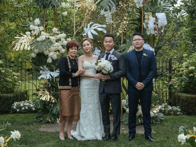 Yao and Tia's wedding in North York, Ontario 28