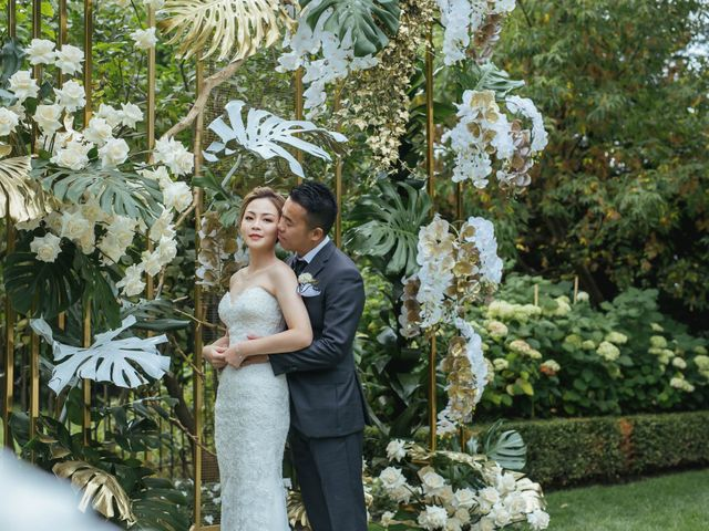 Yao and Tia's wedding in North York, Ontario 31