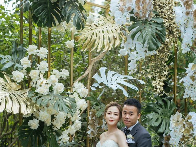 Yao and Tia's wedding in North York, Ontario 32