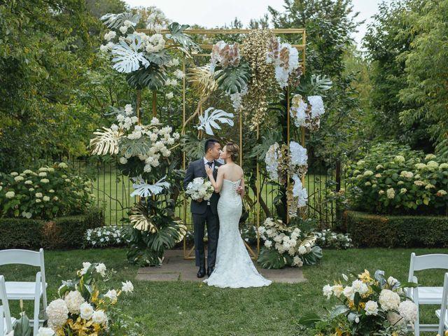 Yao and Tia's wedding in North York, Ontario 33
