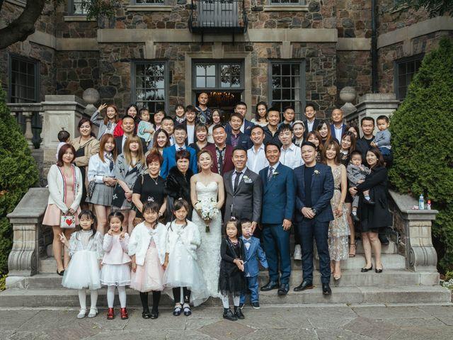 Yao and Tia's wedding in North York, Ontario 40
