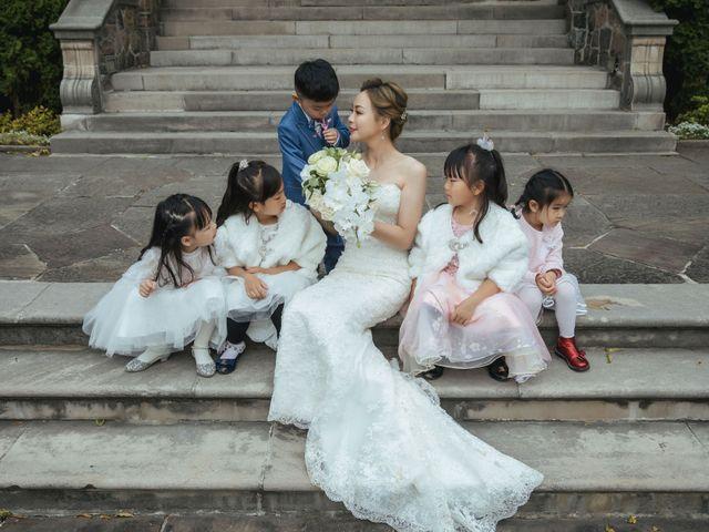 Yao and Tia's wedding in North York, Ontario 41