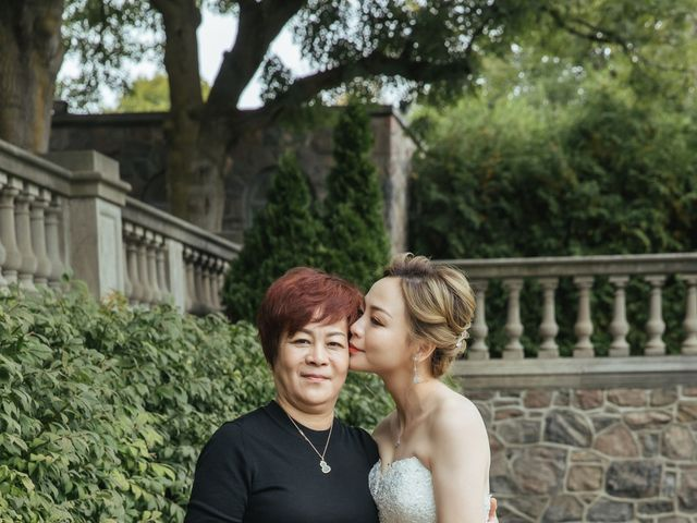 Yao and Tia's wedding in North York, Ontario 42