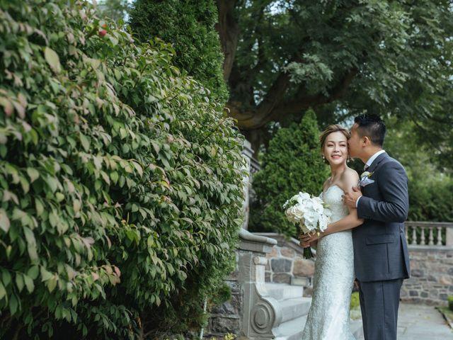 Yao and Tia's wedding in North York, Ontario 54