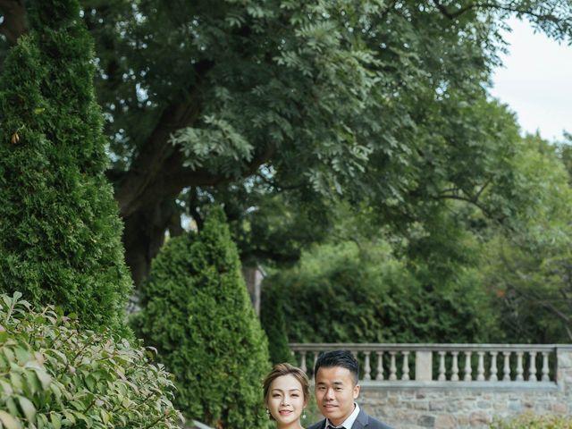 Yao and Tia's wedding in North York, Ontario 55