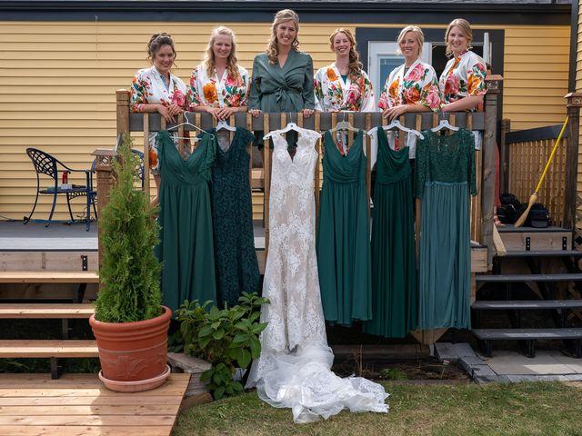 Kaela and Andrew's wedding in Gleichen, Alberta 6