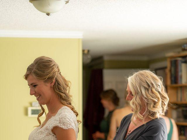 Kaela and Andrew's wedding in Gleichen, Alberta 8
