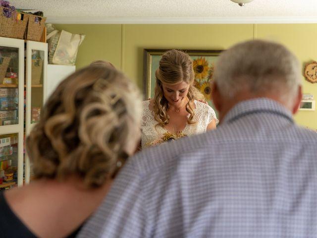 Kaela and Andrew's wedding in Gleichen, Alberta 9