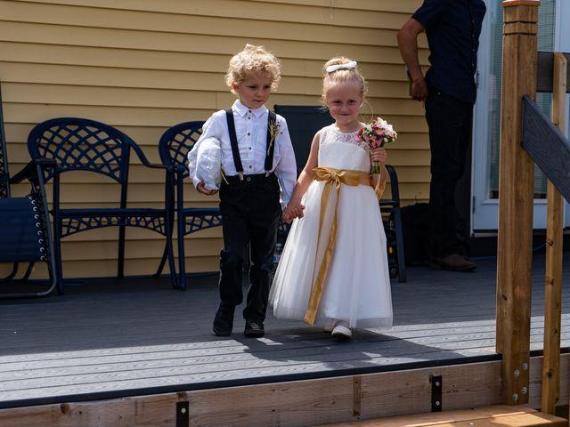 Kaela and Andrew's wedding in Gleichen, Alberta 10