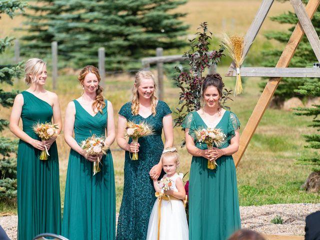 Kaela and Andrew's wedding in Gleichen, Alberta 12