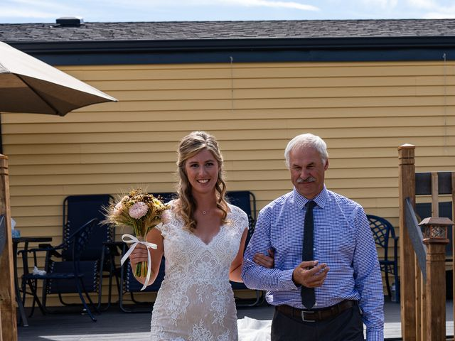 Kaela and Andrew's wedding in Gleichen, Alberta 13