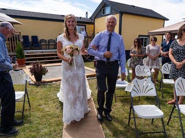 Kaela and Andrew's wedding in Gleichen, Alberta 14