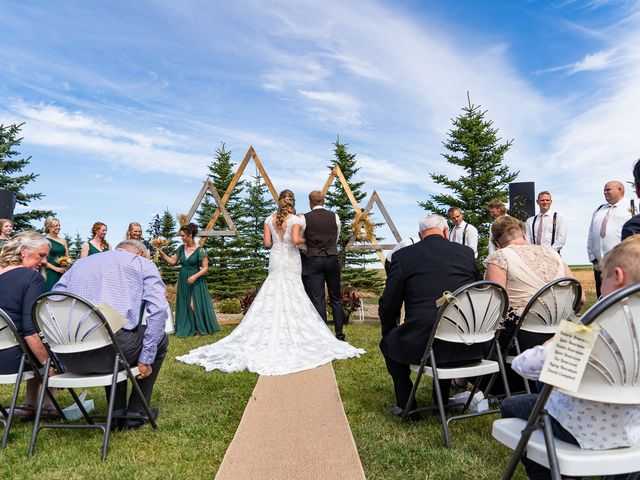 Kaela and Andrew's wedding in Gleichen, Alberta 17