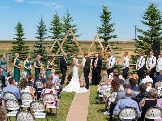 Kaela and Andrew's wedding in Gleichen, Alberta 19