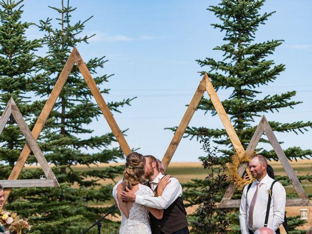 Kaela and Andrew's wedding in Gleichen, Alberta 23