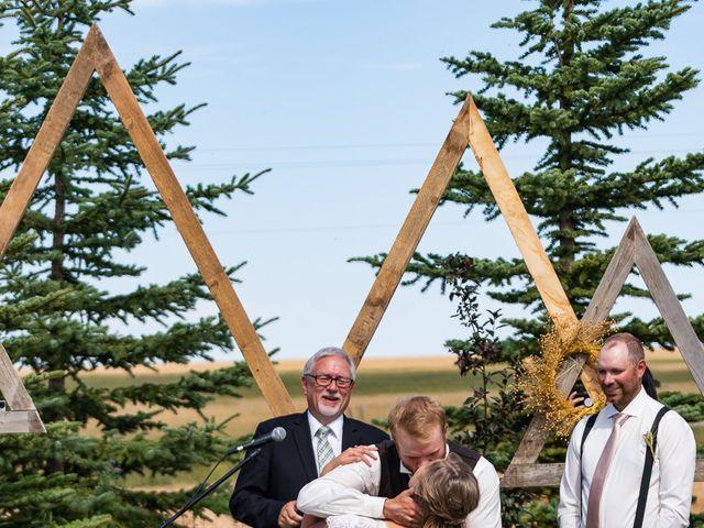 Kaela and Andrew's wedding in Gleichen, Alberta 24