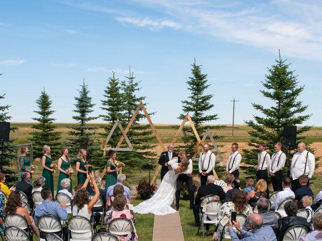 Kaela and Andrew's wedding in Gleichen, Alberta 25