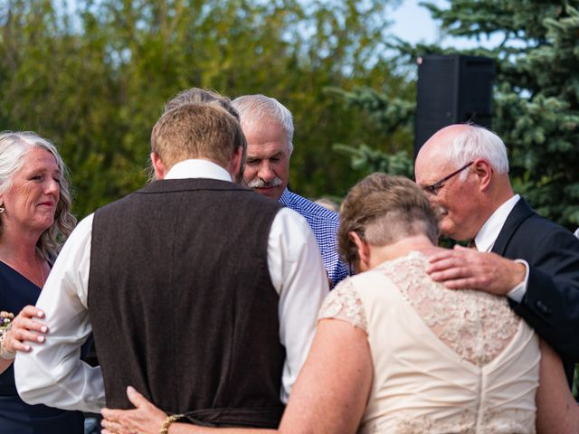 Kaela and Andrew's wedding in Gleichen, Alberta 26