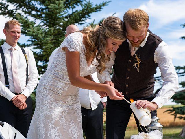 Kaela and Andrew's wedding in Gleichen, Alberta 27