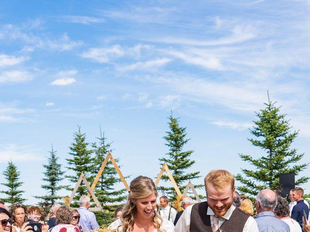 Kaela and Andrew's wedding in Gleichen, Alberta 28