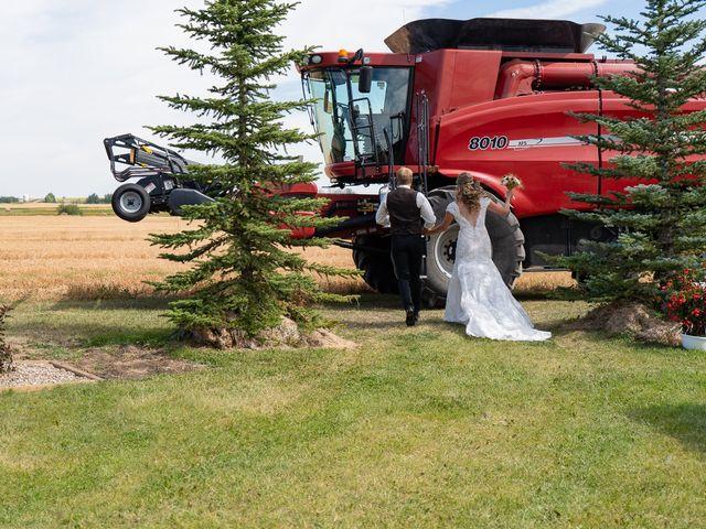 Kaela and Andrew's wedding in Gleichen, Alberta 29
