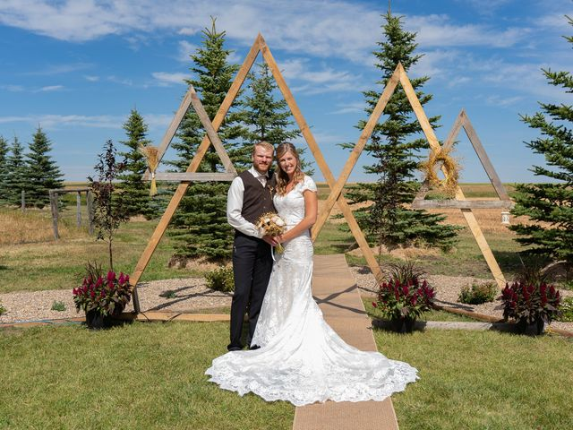 Kaela and Andrew's wedding in Gleichen, Alberta 34