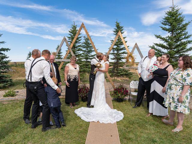 Kaela and Andrew's wedding in Gleichen, Alberta 36