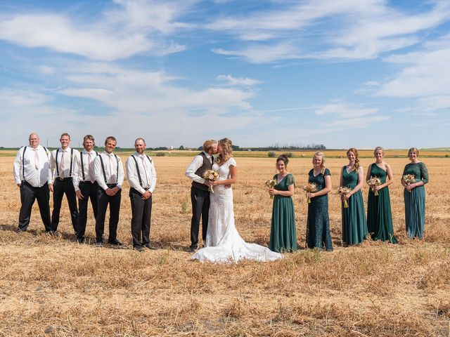 Kaela and Andrew's wedding in Gleichen, Alberta 37