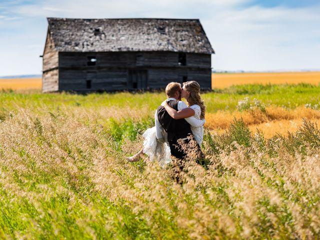 Kaela and Andrew's wedding in Gleichen, Alberta 1