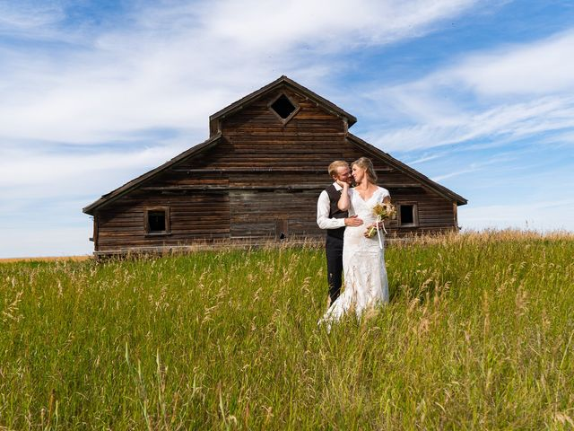 Kaela and Andrew's wedding in Gleichen, Alberta 49