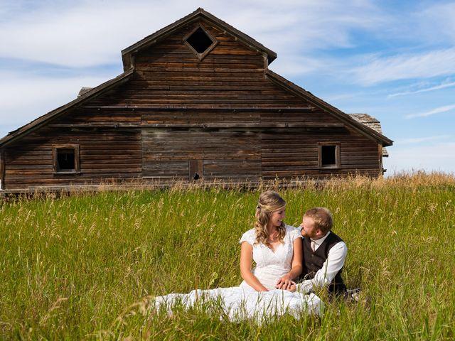 Kaela and Andrew's wedding in Gleichen, Alberta 50
