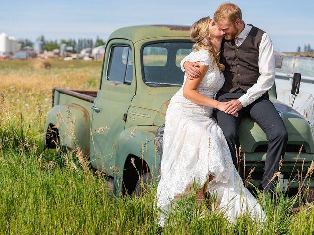 Kaela and Andrew's wedding in Gleichen, Alberta 58