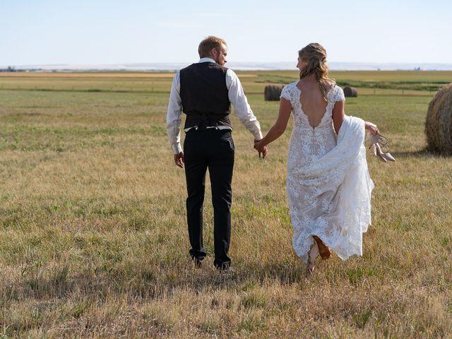 Kaela and Andrew's wedding in Gleichen, Alberta 61