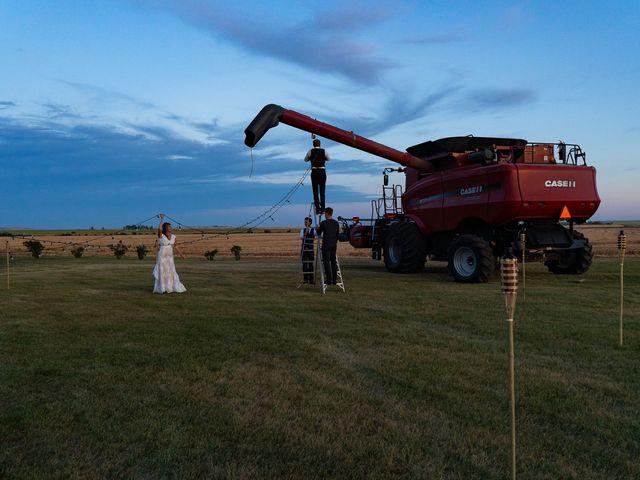 Kaela and Andrew's wedding in Gleichen, Alberta 75