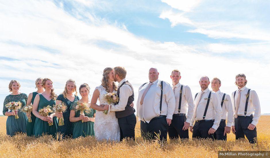 Kaela and Andrew's wedding in Gleichen, Alberta