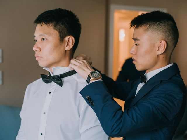 Meng and Jinyoung's wedding in Hamilton, Ontario 12