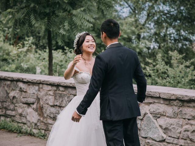 Meng and Jinyoung's wedding in Hamilton, Ontario 16