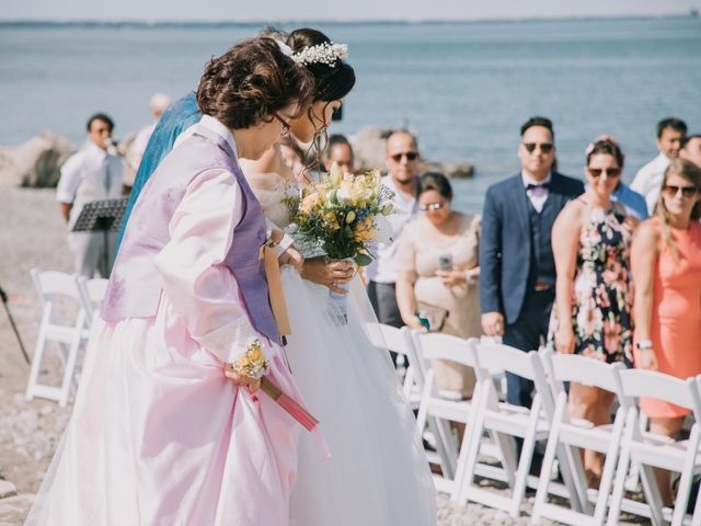 Meng and Jinyoung's wedding in Hamilton, Ontario 27
