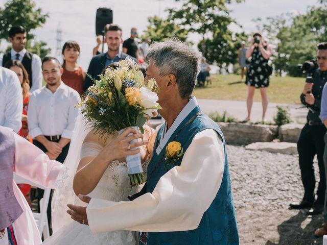 Meng and Jinyoung's wedding in Hamilton, Ontario 29