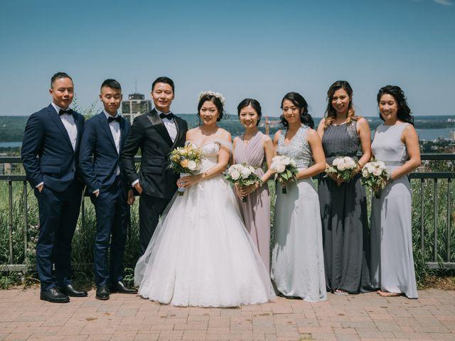 Meng and Jinyoung's wedding in Hamilton, Ontario 34